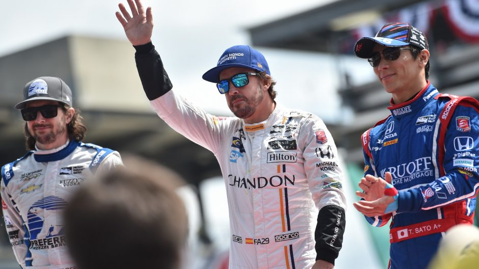 Alonso discussed full-time IndyCar move on-air during last night's race
