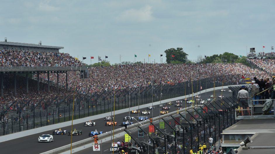 Start, Indianapolis 500, IndyCar, 2017