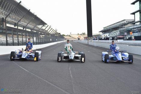 Alexander Rossi, Ed Carpenter, Scott Dixon, Indianapolis 500, 2017