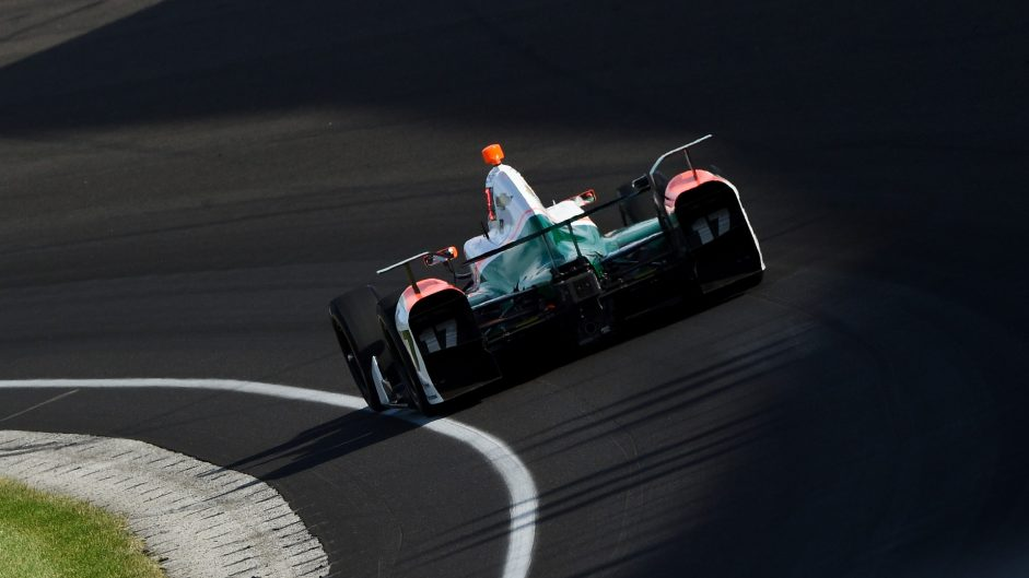 Sebastian Saavedra, Juncos, IndyCar, Indianapolis Motor Speedway, 2017