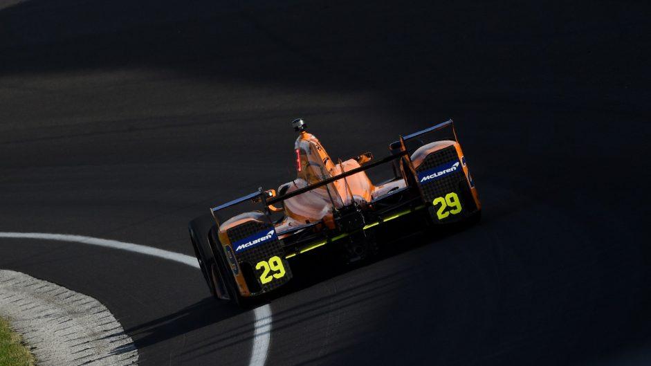 Fernando Alonso, McLaren Andretti, IndyCar, Indianapolis Motor Speedway, 2017