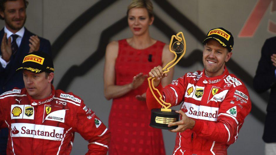 Raikkonen rejects Hamilton's claim Vettel is Ferrari's number one