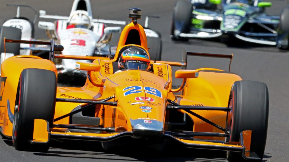 Pictures: Alonso continues Indianapolis 500 preparations