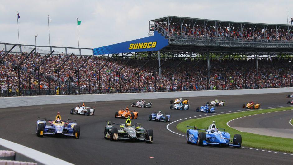 Alexander Rossi, Ed Carpenter, Scott Dixon, Indianapolis 500, IndyCar, 2017