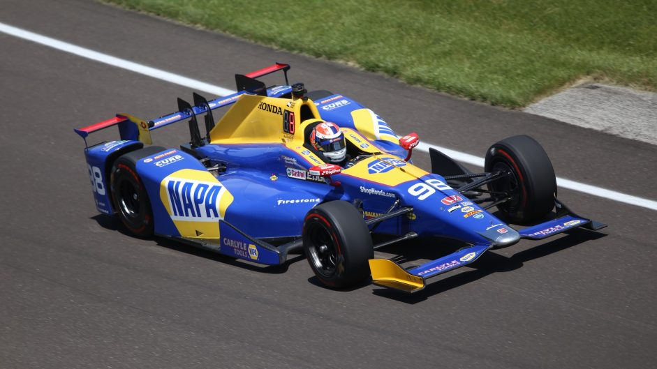 Alexander Rossi, Andretti-Herta, IndyCar, Indianapolis Motor Speedway, 2017