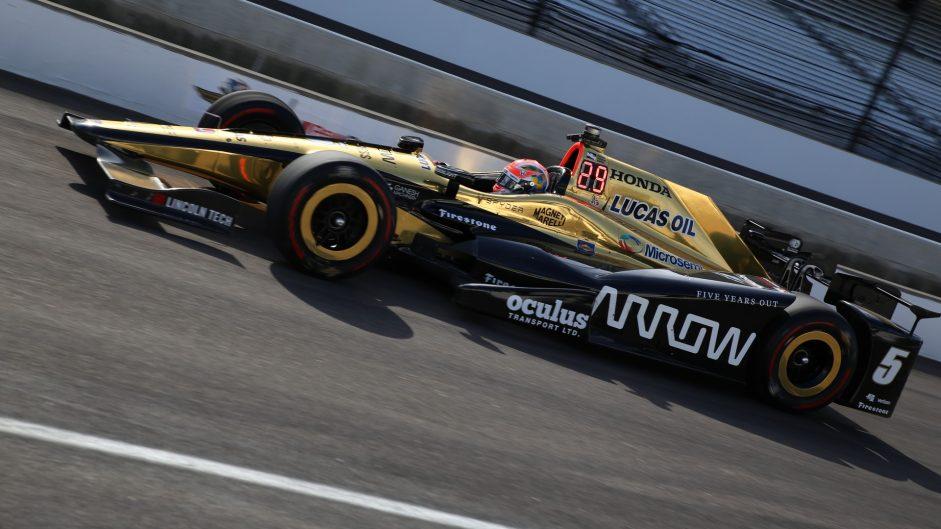 James Hinchcliffe, Schmidt Peterson, IndyCar, Indianapolis Motor Speedway, 2017