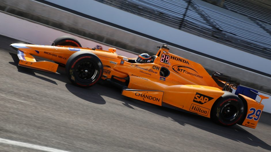 Pictures Alonso Continues Indianapolis 500 Preparations