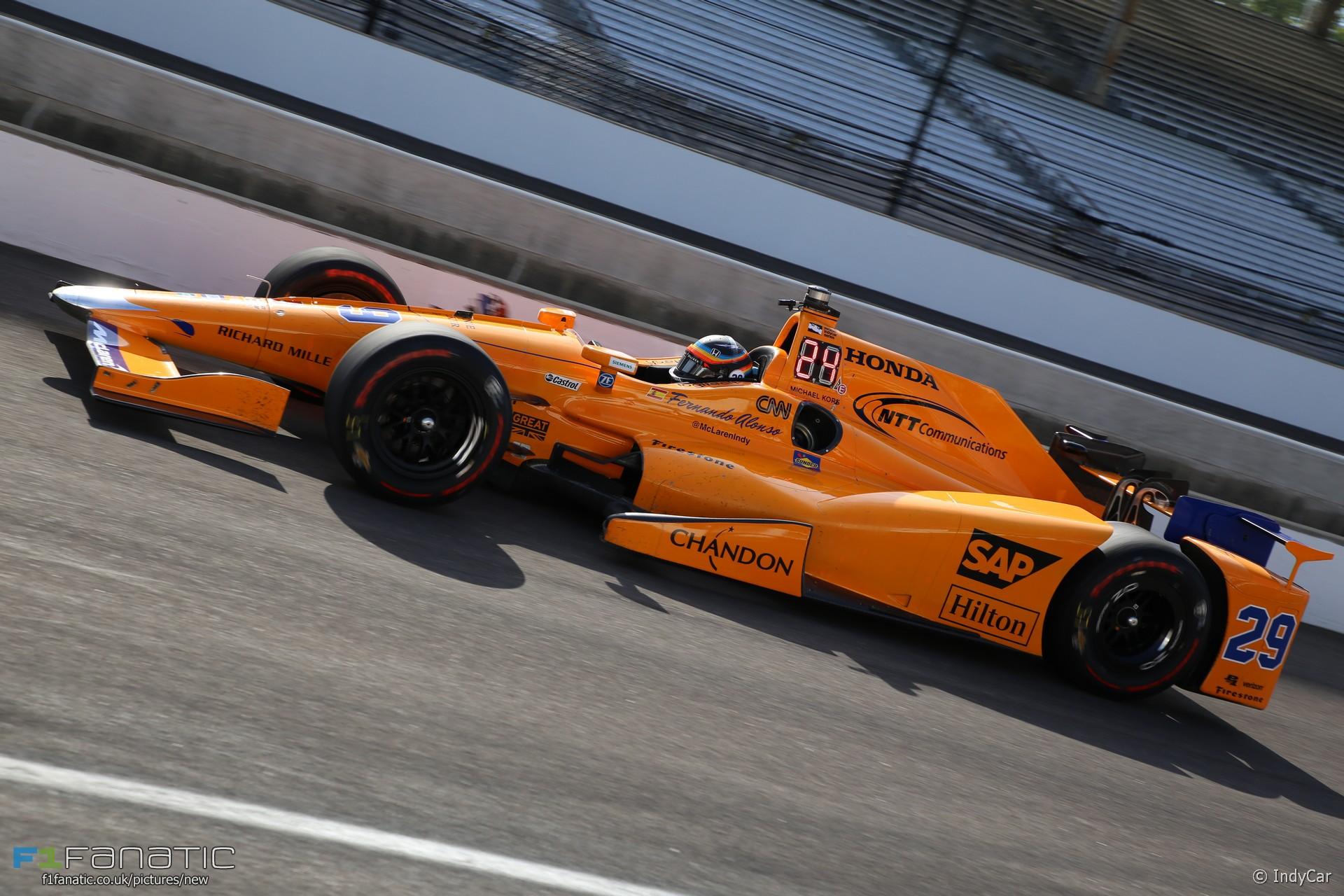 Fernando Alonso Mclaren Andretti Indycar Indianapolis
