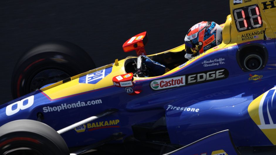 Alexander Rossi, Andretti, IndyCar, Indianapolis Motor Speedway, 2017