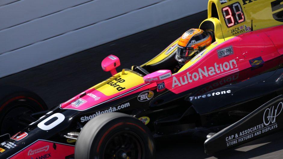 Jack Harvey, Shank Andretti, IndyCar, Indianapolis Motor Speedway, 2017