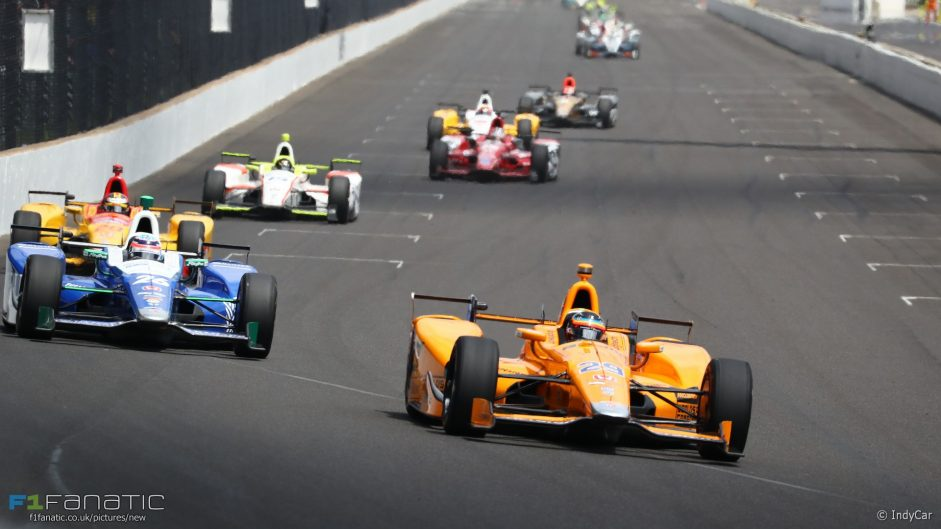 Engine failure ends Alonso's Indy 500 bid