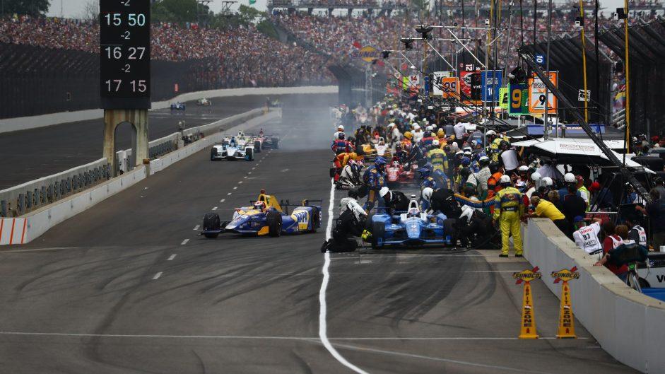 Scott Dixon, Alexander Rossi, Indianapolis 500, IndyCar, 2017