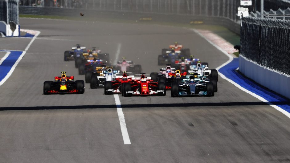 Top ten pictures from the 2017 Russian Grand Prix
