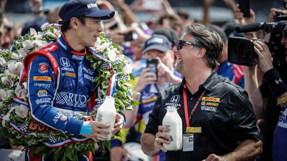 Takuma Sato, Michael Andretti, Andretti, Indianapolis 500, IndyCar, 2017