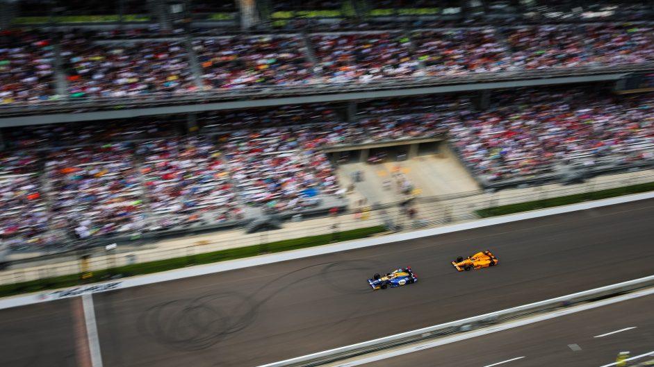 Alexander Rossi, Fernando Alonso, Indianapolis 500, IndyCar, 2017