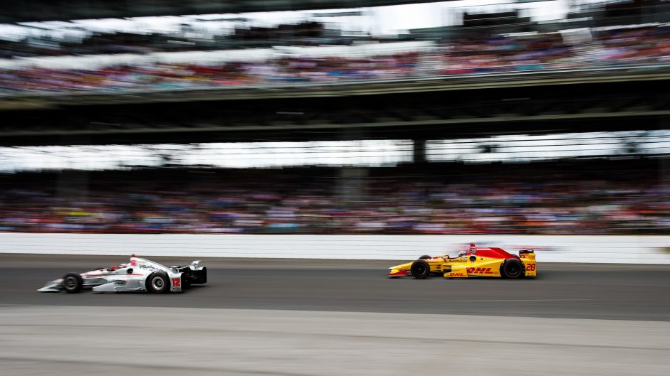 Will Power, Ryan Hunter-Reay, Indianapolis 500, IndyCar, 2017