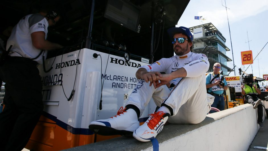 Fernando Alonso, McLaren Andretti, IndyCar, Indianapolis Motor Speedway, 2017