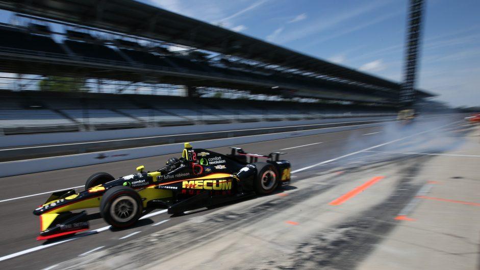 Sage Karam, DRR, IndyCar, Indianapolis Motor Speedway, 2017