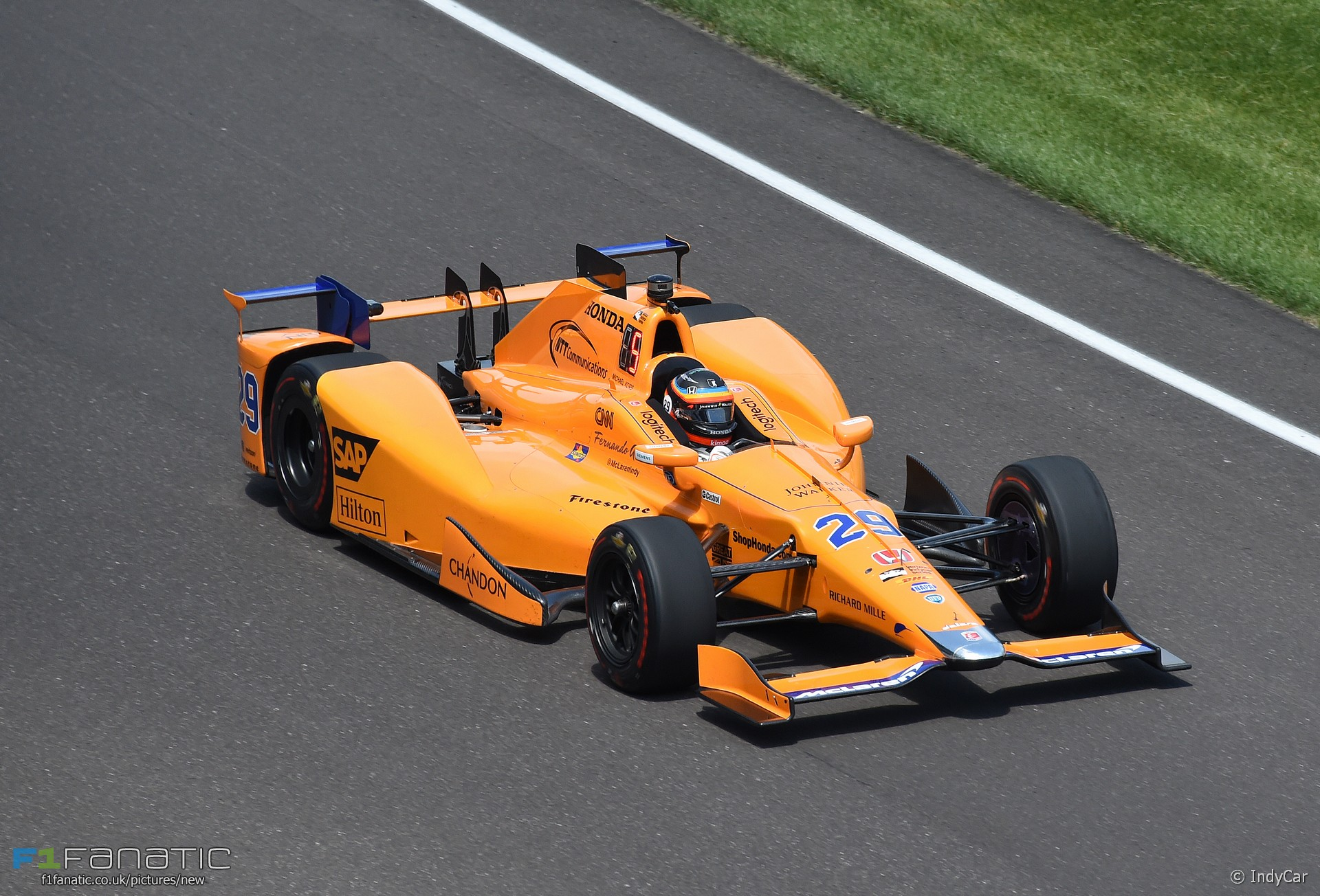 Fernando Alonso, McLaren Andretti, IndyCar, Indianapolis Motor Speedway, 2017 · F1 Fanatic