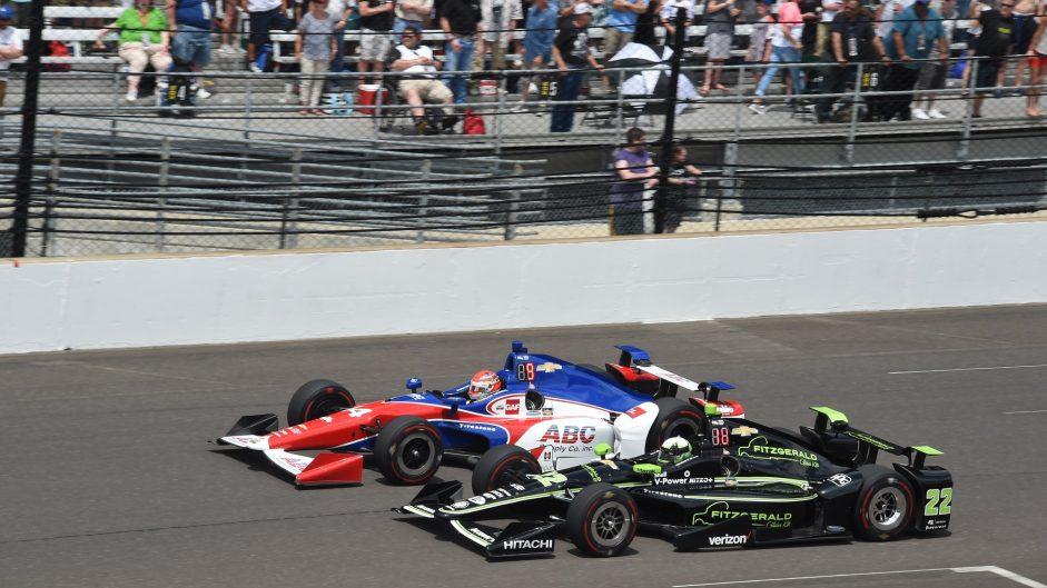 Carlos Munoz, Juan Pablo Montoya, IndyCar, 2017