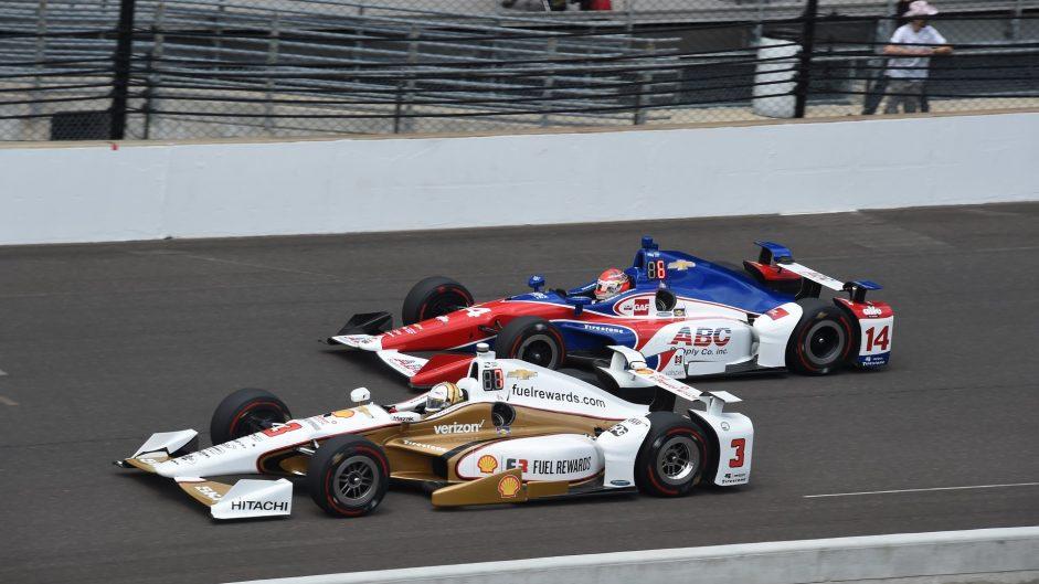 Helio Castroneves, Carlos Munoz, IndyCar, 2017