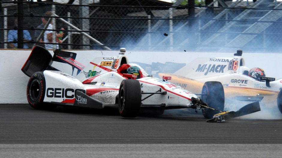 Pictures: Sato wins an incident-packed Indianapolis 500