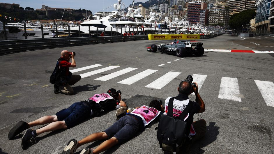 Romain Grosjean, Haas, Monaco, 2017