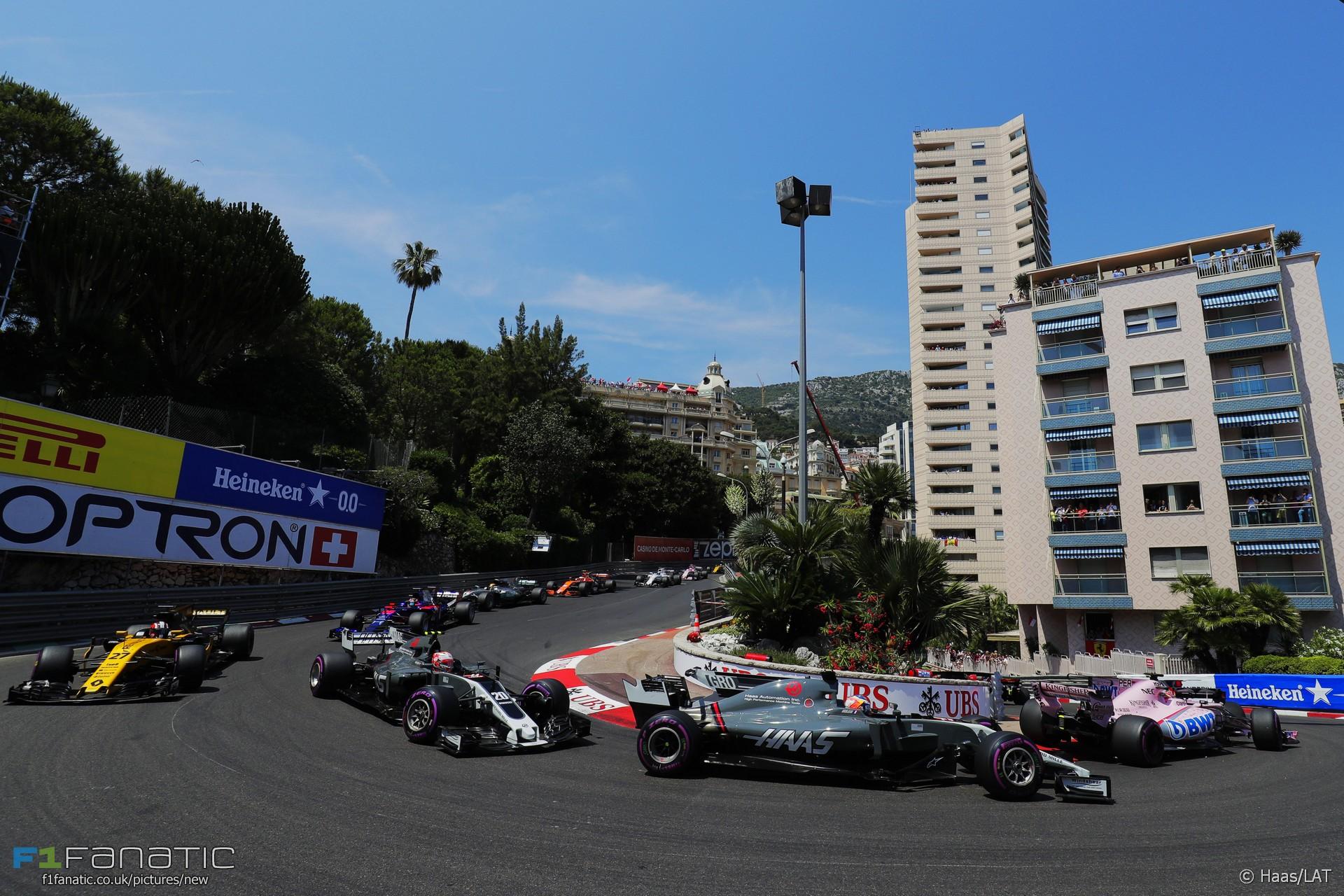 Start, Monaco, 2017