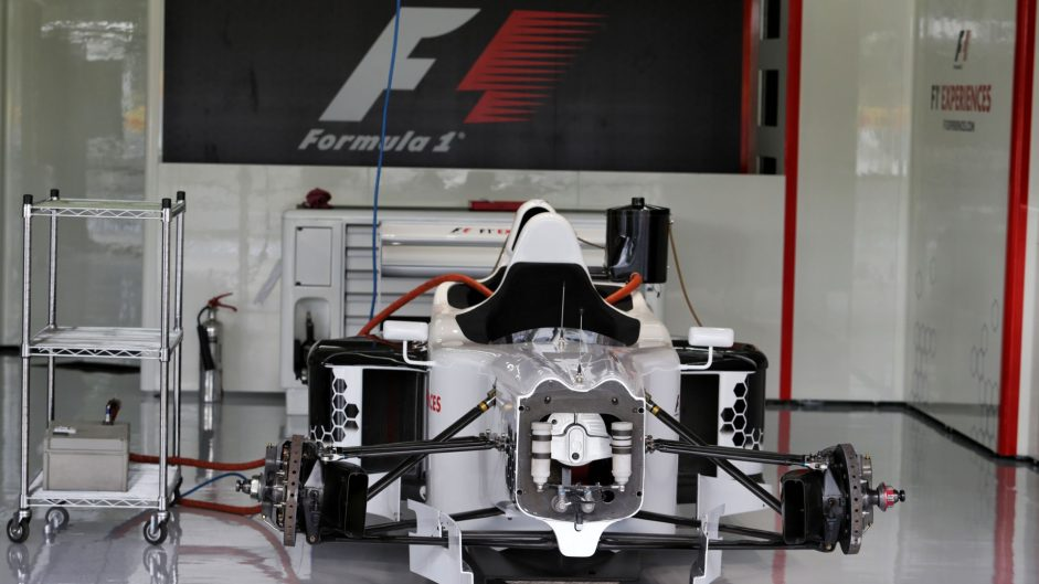 F1 two seater, Circuit de Catalunya, 2017