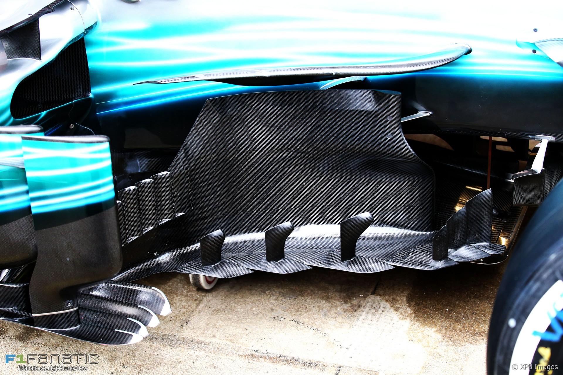 Mercedes W08, Circuit de Catalunya, 2017