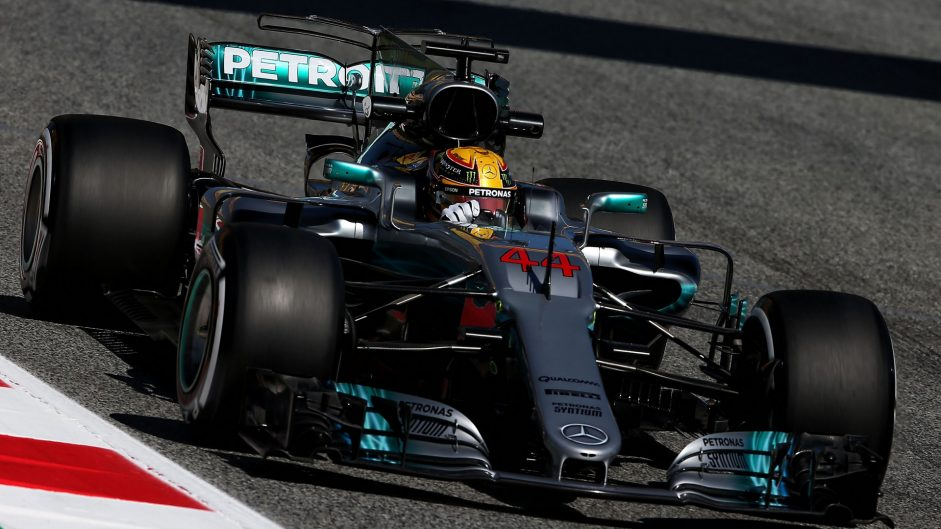 Hamilton leads Mercedes one-two as Alonso stops again