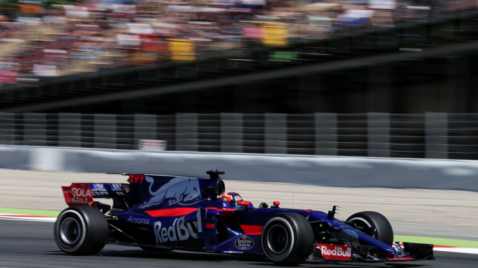 Daniil Kvyat, Toro Rosso, Circuit de Catalunya, 2017
