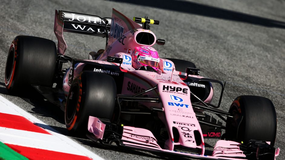 Esteban Ocon, Force India, Circuit de Catalunya, 2017