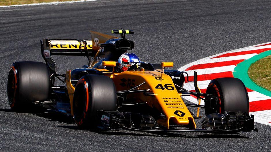 Sergey Sirotkin, Renault, Circuit de Catalunya, 2017