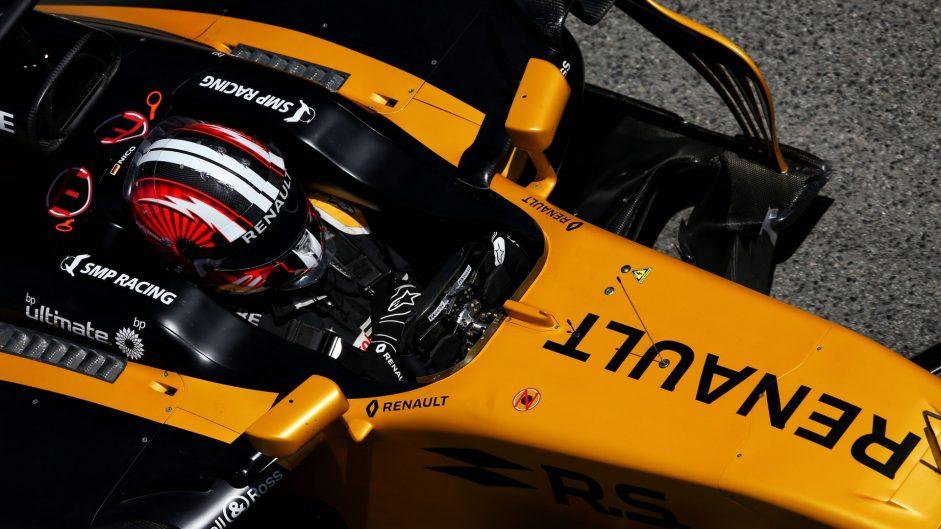 Nico Hulkenberg, Renault, Circuit de Catalunya, 2017