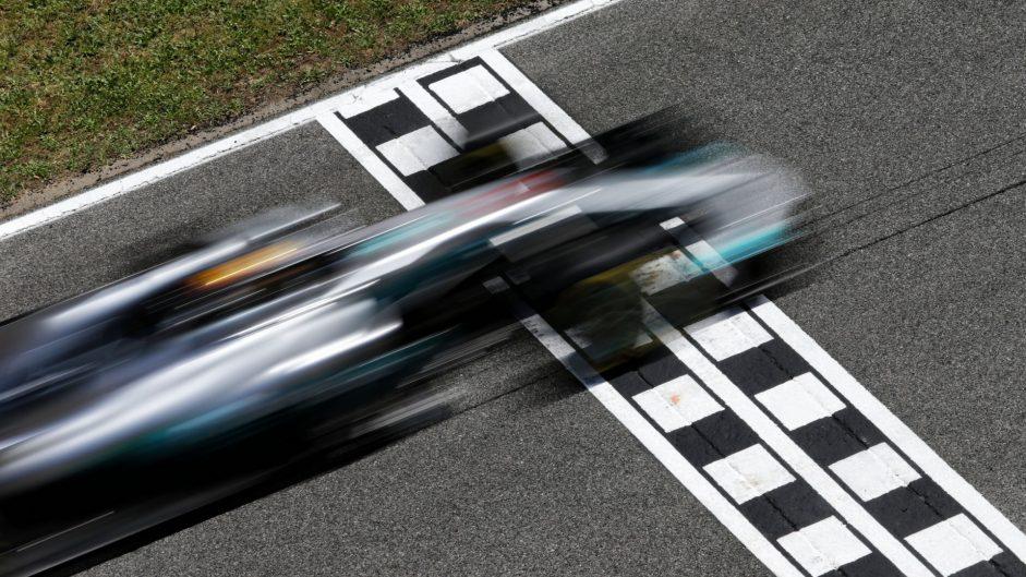 2017 Spanish Grand Prix grid