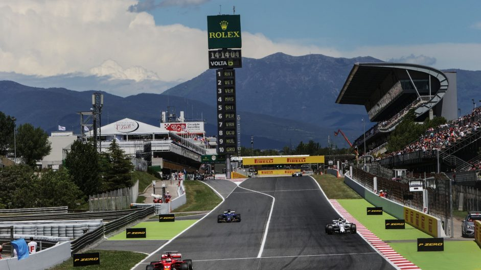 DRS zone extended for Spanish Grand Prix