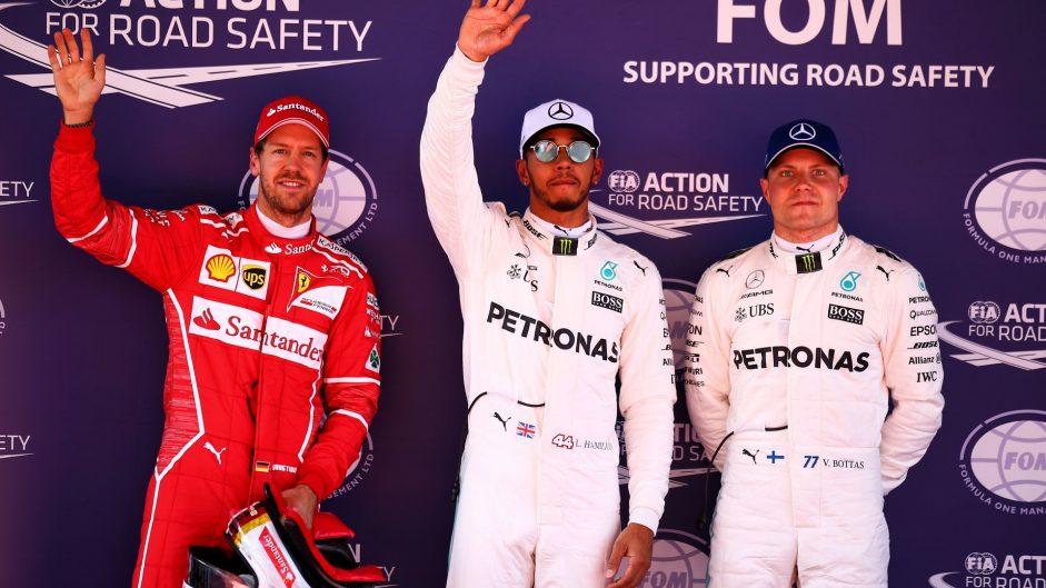 Hamilton pips Vettel to Barcelona pole