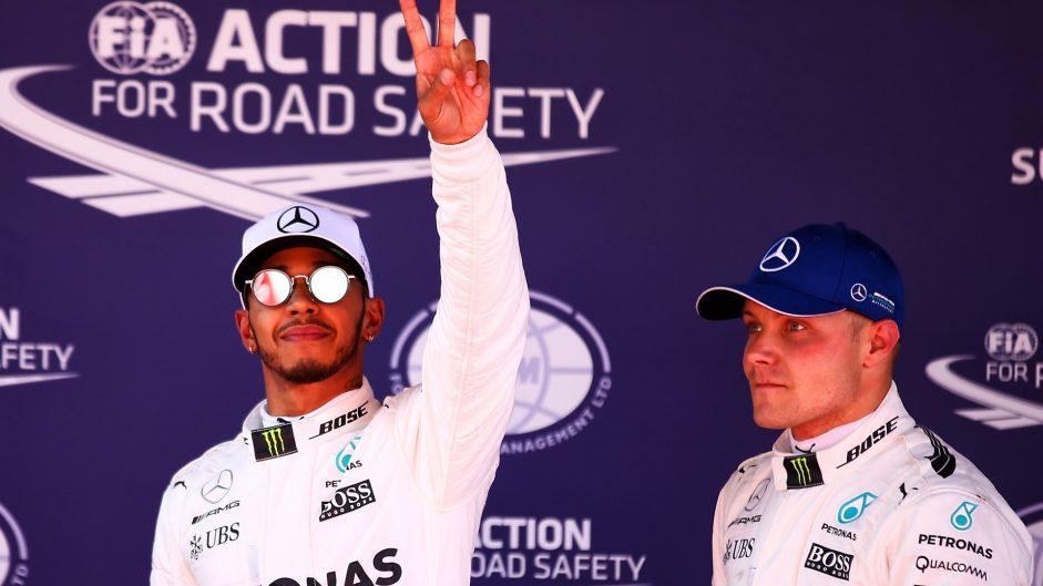 Lewis Hamilton, Valtteri Bottas, Mercedes, Circuit de Catalunya, 2017