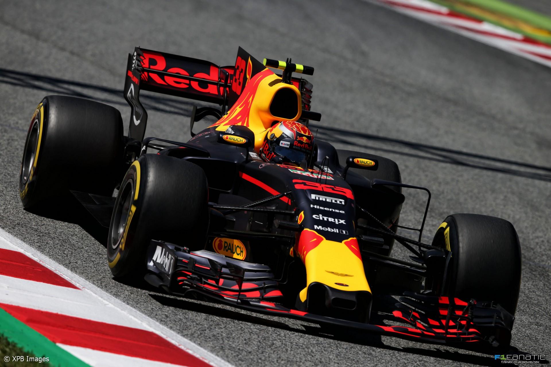 Max Verstappen, Red Bull, Circuit de Catalunya, 2017 · F1 ...