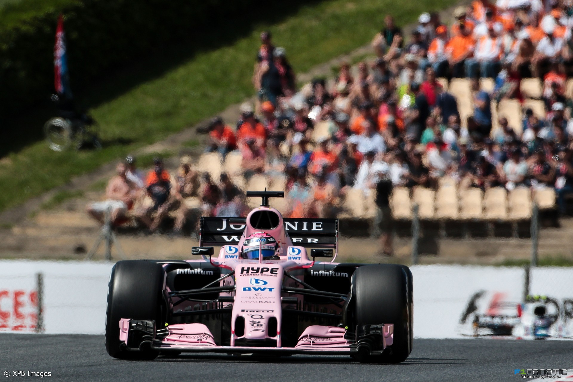 Sergio Perez, Force India, Circuit de Catalunya, 2017