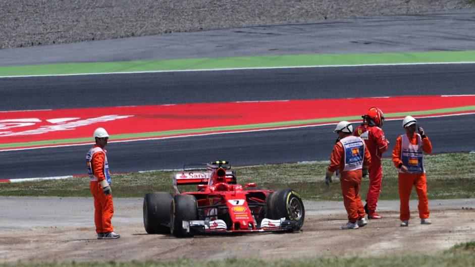 Kimi Raikkonen, Ferrari, Circuit de Catalunya, 2017