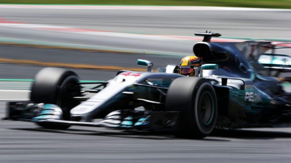 Lewis Hamilton, Mercedes, Circuit de Catalunya, 2017