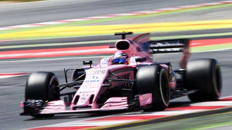 Force India handed suspended fine for number infringement