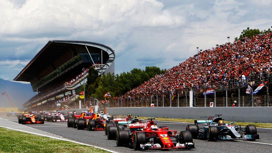 Start, Circuit de Catalunya, 2017