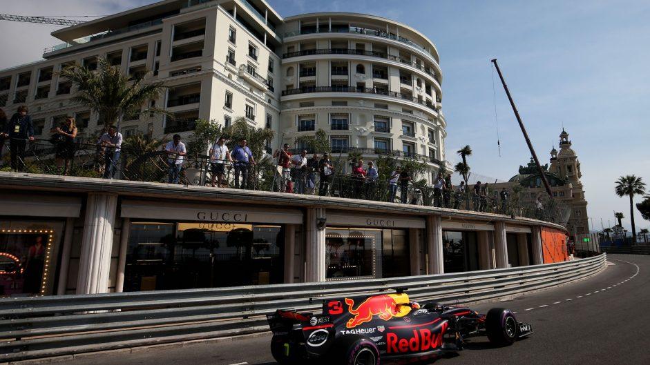 Daniel Ricciardo, Red Bull, Monaco, 2017