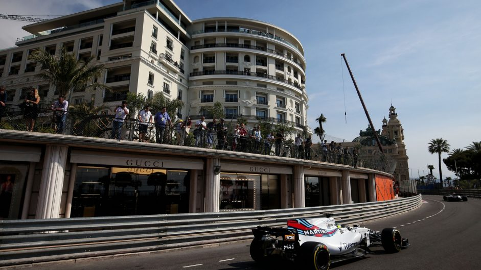 Felipe Massa, Williams, Monaco, 2017