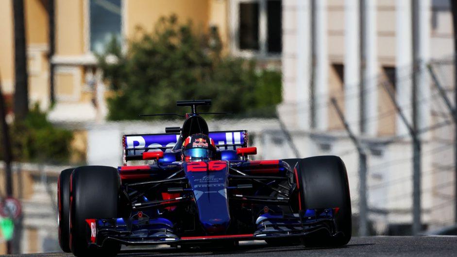 Daniil Kvyat, Toro Rosso, Monaco, 2017