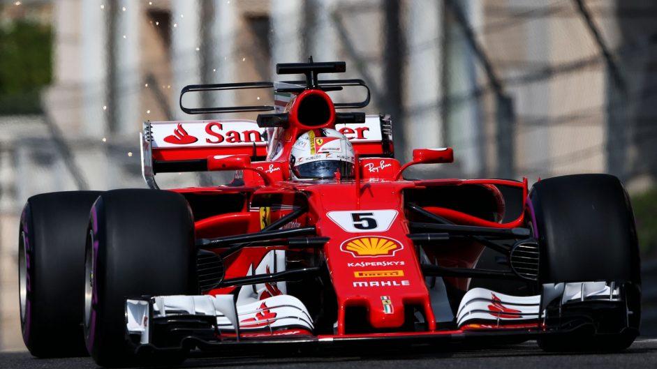 Vettel flies, Mercedes struggle and Stroll shunts