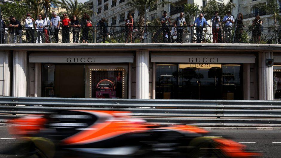 Jenson Button, McLaren, Monaco, 2017
